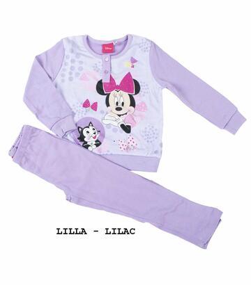 Pigiama da bambina in CALDO cotone Disney Minnie MIN-0017 - CIAM Centro Ingrosso Abbigliamento