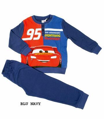 Pigiama da bambino in CALDO cotone Disney Pixar Cars CAR-0023 - CIAM Centro Ingrosso Abbigliamento
