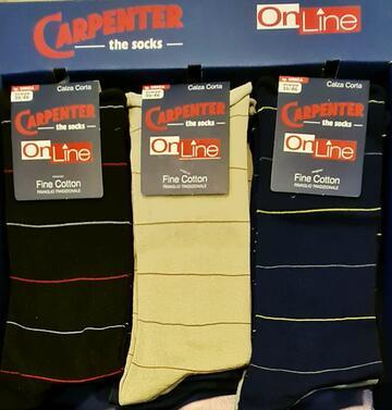 Calzino corto smollati in cotone elasticizzato Carpenter 0177 - CIAM Centro Ingrosso Abbigliamento