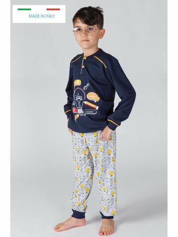 ART. 30020Pigiama bambino in cotone Gary 30020 Tg.8/10 Anni - CIAM Centro Ingrosso Abbigliamento