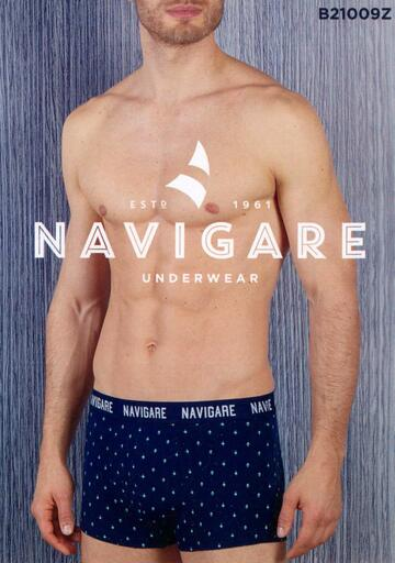 Boxer uomo moda in cotone elasticizzato Navigare B21009Z - CIAM Centro Ingrosso Abbigliamento