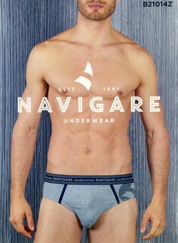 Slip moda uomo in cotone elasticizzato Navigare B21014Z - CIAM Centro Ingrosso Abbigliamento