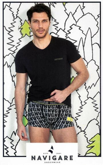 Completo uomo con t-shirt e boxer Navigare B211682 - CIAM Centro Ingrosso Abbigliamento