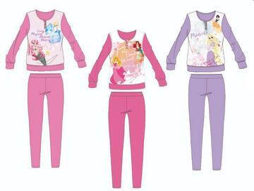 PIGIAMA BAMBINA LUNGO COTONE DISNEY PRINCESS 1390 - CIAM Centro Ingrosso Abbigliamento