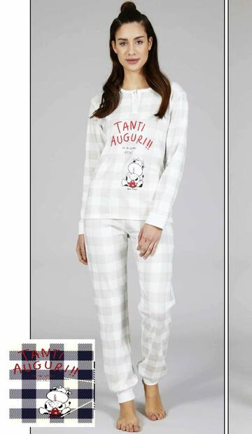 15534 pigiama ml donna natale - CIAM Centro Ingrosso Abbigliamento