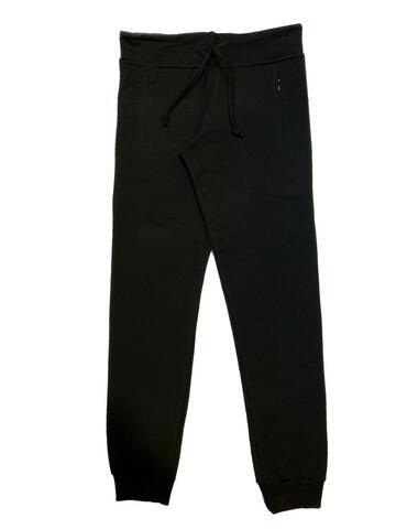 PANTALONE POLSINO DONNA FELPATO TASCHE ZIP IKO' 20129051 - CIAM Centro Ingrosso Abbigliamento