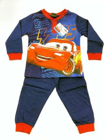 Pigiama bambino a manica lunga in cotone Cars CR 2044-1215 - CIAM Centro Ingrosso Abbigliamento