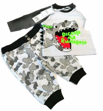 Tuta jogging neonato Mignolo 22241 - CIAM Centro Ingrosso Abbigliamento