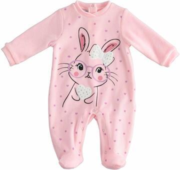 Tutina da neonata in ciniglia Mignolo 23142 - CIAM Centro Ingrosso Abbigliamento