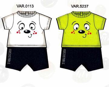 Pagliaccetto neonato in cotone Mignolo 22401 - CIAM Centro Ingrosso Abbigliamento