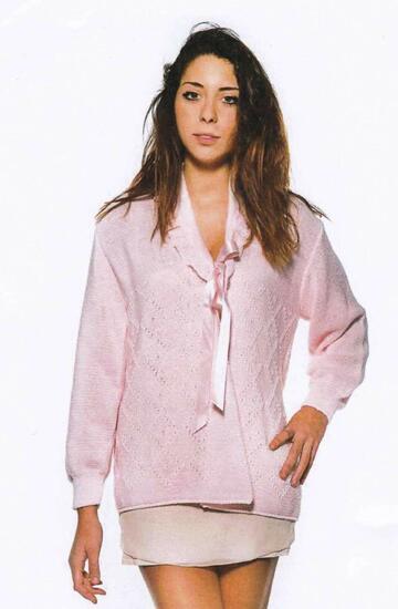 Liseuse donna in misto lana La Rocca Lingerie 253 - CIAM Centro Ingrosso Abbigliamento