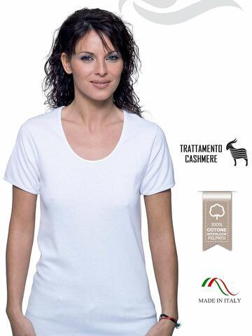 Maglia donna manica corta in cotone interlock felpato Leable 259-326 - CIAM Centro Ingrosso Abbigliamento