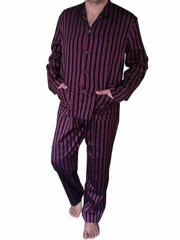Pigiama uomo aperto in tessuto camicia Pier Mori's 2661 - CIAM Centro Ingrosso Abbigliamento