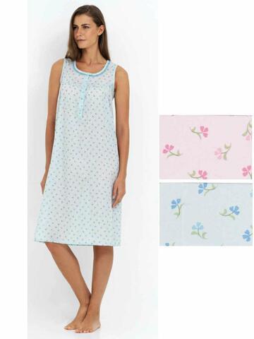 Camicia da notte donna in TESSUTO battista Linclalor 29081 - CIAM Centro Ingrosso Abbigliamento