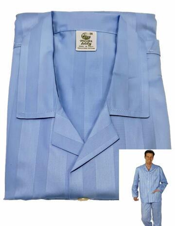 Pigiama uomo aperto in tessuto Blitz Moda Ricard 318 - CIAM Centro Ingrosso Abbigliamento