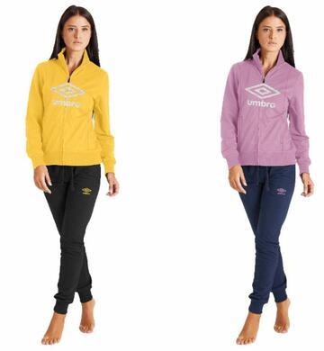 Tuta donna in calda felpa di cotone Umbro 32056S - CIAM Centro Ingrosso Abbigliamento