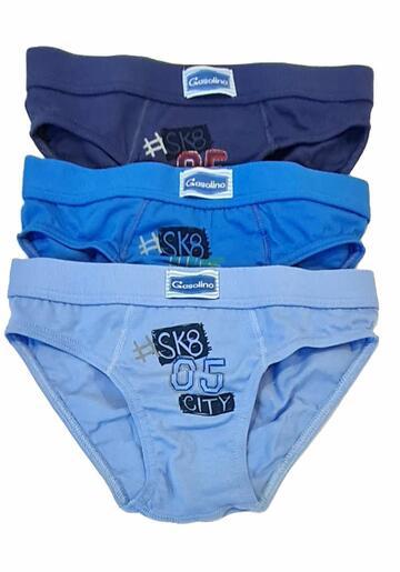 Slip bambino in cotone elasticizzato Gasolino U3285 - CIAM Centro Ingrosso Abbigliamento