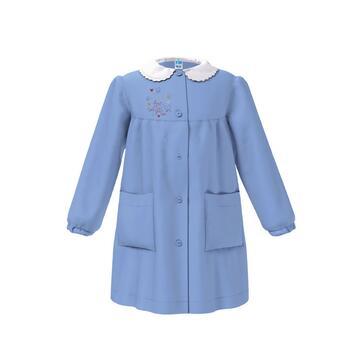 GREMBIULE SCUOLA DA BAMBINA SIGGI HAPPY SCHOOL 33GR3599 Farfalle - CIAM Centro Ingrosso Abbigliamento
