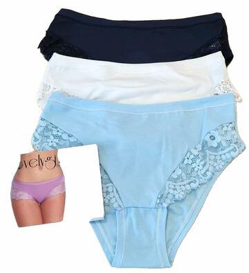 Culotte donna cotone elasticizzato colorato Emy 3517L - CIAM Centro Ingrosso Abbigliamento
