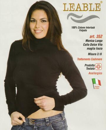 Maglia donna dolce vita in caldo cotone Leable 352 - CIAM Centro Ingrosso Abbigliamento