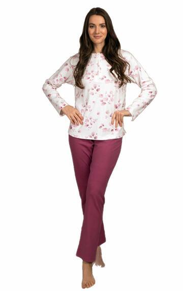 Pigiama donna in jersey di cotone caldo Silvia 41604 - CIAM Centro Ingrosso Abbigliamento