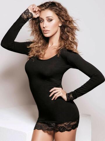 4268 maglia ml+pizzo donna - CIAM Centro Ingrosso Abbigliamento