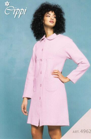 Vestaglia donna in cotone caldo trapuntato Cippi 4962 Tg. M/XXL - CIAM Centro Ingrosso Abbigliamento