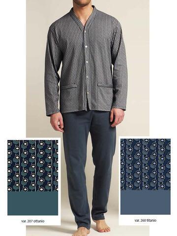 5977 pigiama ml cardigan uomo - CIAM Centro Ingrosso Abbigliamento
