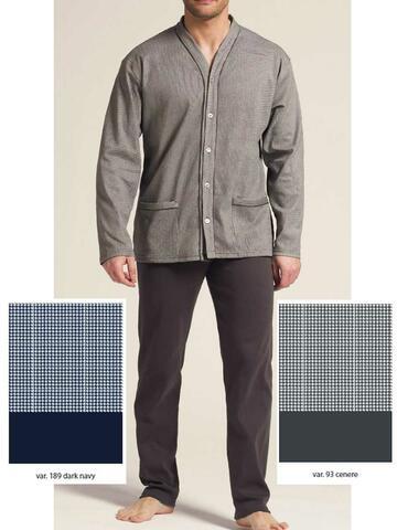 5986 pigiama ml cardigan uomo - CIAM Centro Ingrosso Abbigliamento