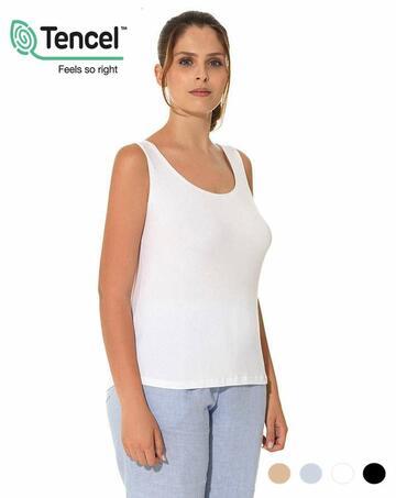 Canottiera donna a spalla larga Emmebivi Vitality 60211 - CIAM Centro Ingrosso Abbigliamento