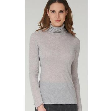 Dolcevita donna in modal e lana Emmebivi Vitality 60229 - CIAM Centro Ingrosso Abbigliamento