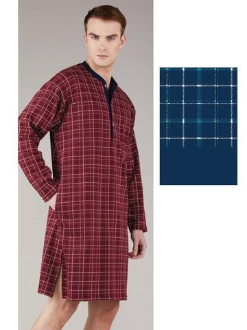 Camicia da notte uomo caldo cotone Bip Bip 6347 - CIAM Centro Ingrosso Abbigliamento