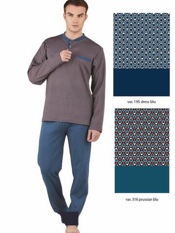 Pigiama uomo in cotone caldo Bip Bip 6353 - CIAM Centro Ingrosso Abbigliamento