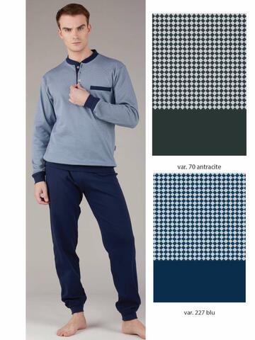 Pigiama uomo in cotone caldo Bip Bip 6424 Tg.4/7 - CIAM Centro Ingrosso Abbigliamento