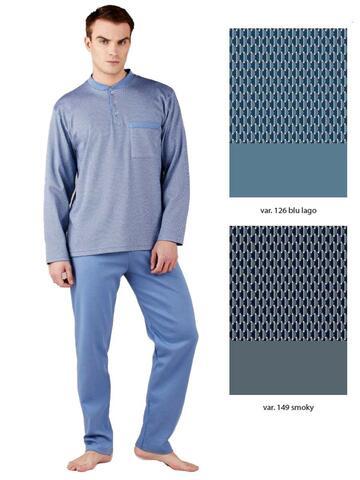 Pigiama uomo cotone caldo senza polsini Bip Bip 6442 - CIAM Centro Ingrosso Abbigliamento