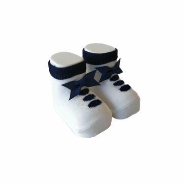 SCARPINA NEONATO FIOCCO WSC6516 MAFER - CIAM Centro Ingrosso Abbigliamento