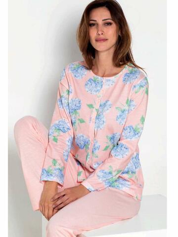 ART. 7356773567 pigiama ml aperto donna - CIAM Centro Ingrosso Abbigliamento