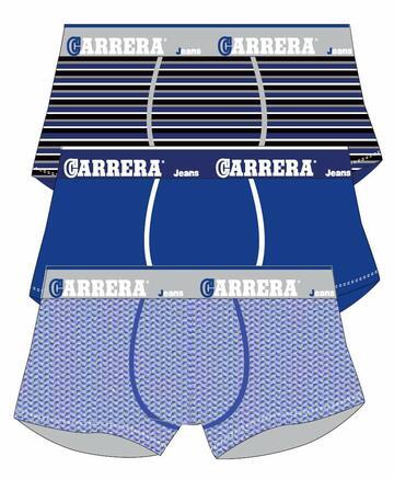 Boxer uomo in cotone elasticizzato Carrera 703 (3 pezzi) - CIAM Centro Ingrosso Abbigliamento