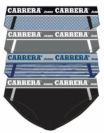 Slip uomo in cotone elasticizzato Carrera 706 ( 4 pezzi ) - CIAM Centro Ingrosso Abbigliamento