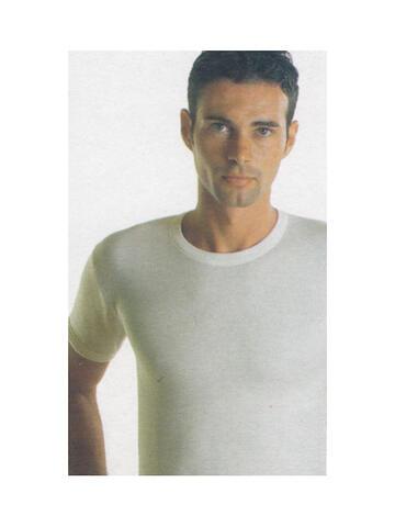 Art. Rocky t-shirt biancoRocky mm uomo bianco/melange - CIAM Centro Ingrosso Abbigliamento