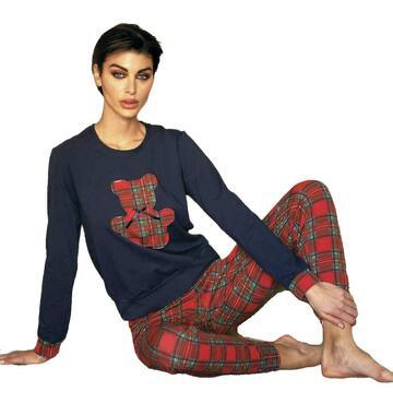 Pigiama donna in caldo cotone Magic Dream 8234 - CIAM Centro Ingrosso Abbigliamento
