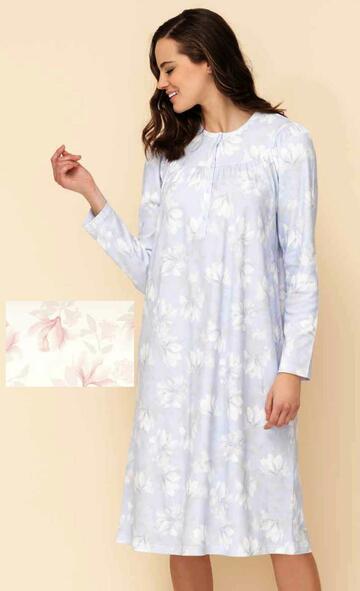 9275192751 camicia ml seraf.notte donna - CIAM Centro Ingrosso Abbigliamento