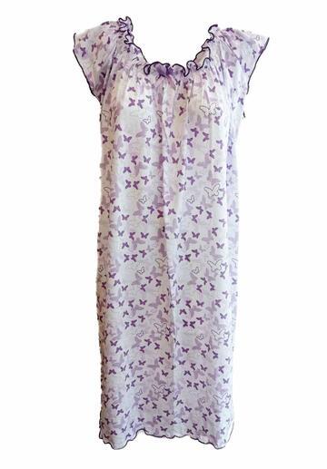 Camicia da notte donna a spalla larga Fiorenza Amadori Aletta - CIAM Centro Ingrosso Abbigliamento