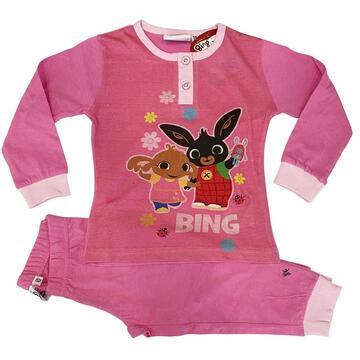 Pigiama da bambina manica lunga in cotone Bing Bunny BIN20-13464 - CIAM Centro Ingrosso Abbigliamento