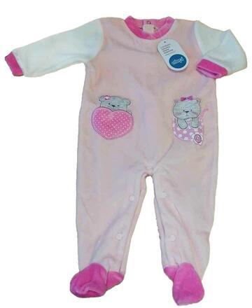 Tutina neonato in ciniglia Ellepi BQ 3020 - CIAM Centro Ingrosso Abbigliamento