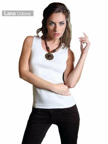 540 7-8 sl donna lana cotone liscia - CIAM Centro Ingrosso Abbigliamento