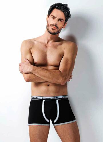 Boxer uomo in cotone elasticizzato Enrico Coveri EB1706 - CIAM Centro Ingrosso Abbigliamento