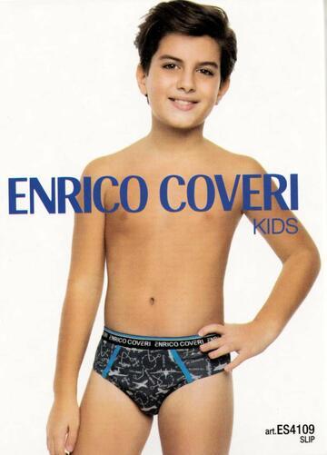 Slip da bambino cotone elasticizzato Enrico Coveri ES4109 - CIAM Centro Ingrosso Abbigliamento