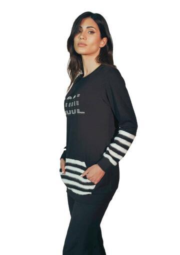 Pigiama homewear donna in cotone caldo Intimami ID777 - CIAM Centro Ingrosso Abbigliamento