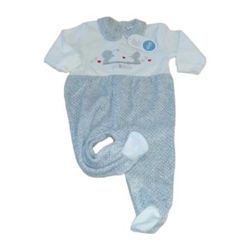 Tutina neonato in ciniglia Ellepi BQ 3021 - CIAM Centro Ingrosso Abbigliamento